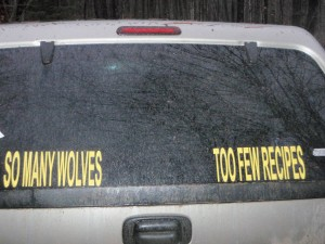 Not uncommon attitude among some hunters in the U.P. during deer season.