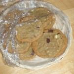Wow, fresh cookies from Brenda Stinson