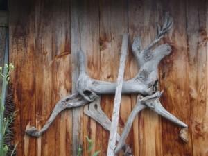 Downey's driftwood art
