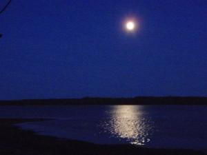 Moon Over Muskallonge