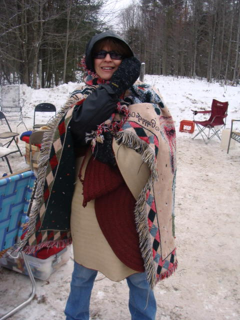 Best dress warm for outdoor stuff in the winter Yoop. Style is never an issue.
