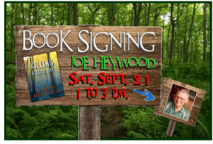 Book Signing Sept 21