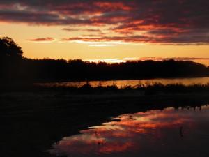This morning's sunrise.