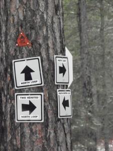 Yooper traffic signage.