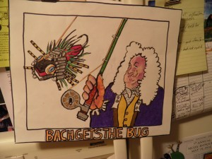 Bach Gets Da Bug and Don't We all Know What THAT'S like!
