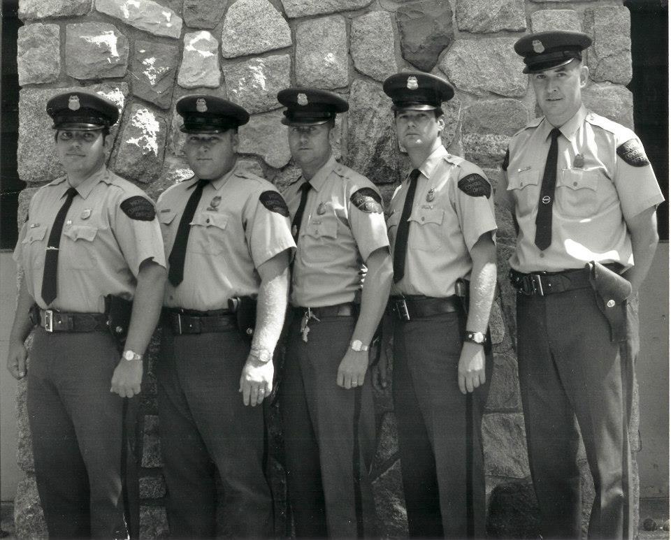 (L-R)  COs Bpb Schneider, Ralph Bennett, Wes LaFayette, Gary Sims, Charie Turk
