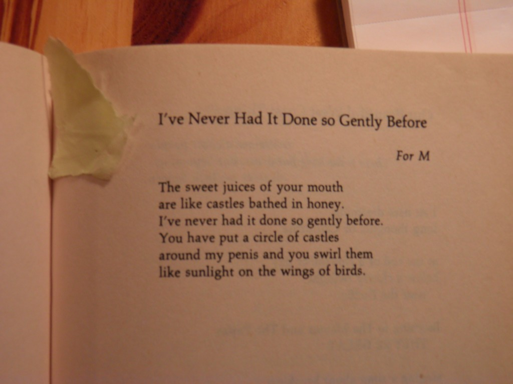The poem and mystery shard of yellowdog paper