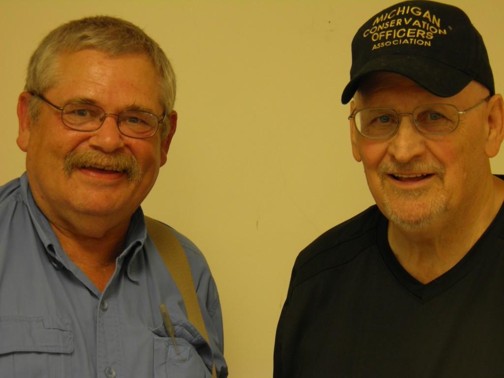 Jim  Battin and Me -- Fellow Gates Lodgers.