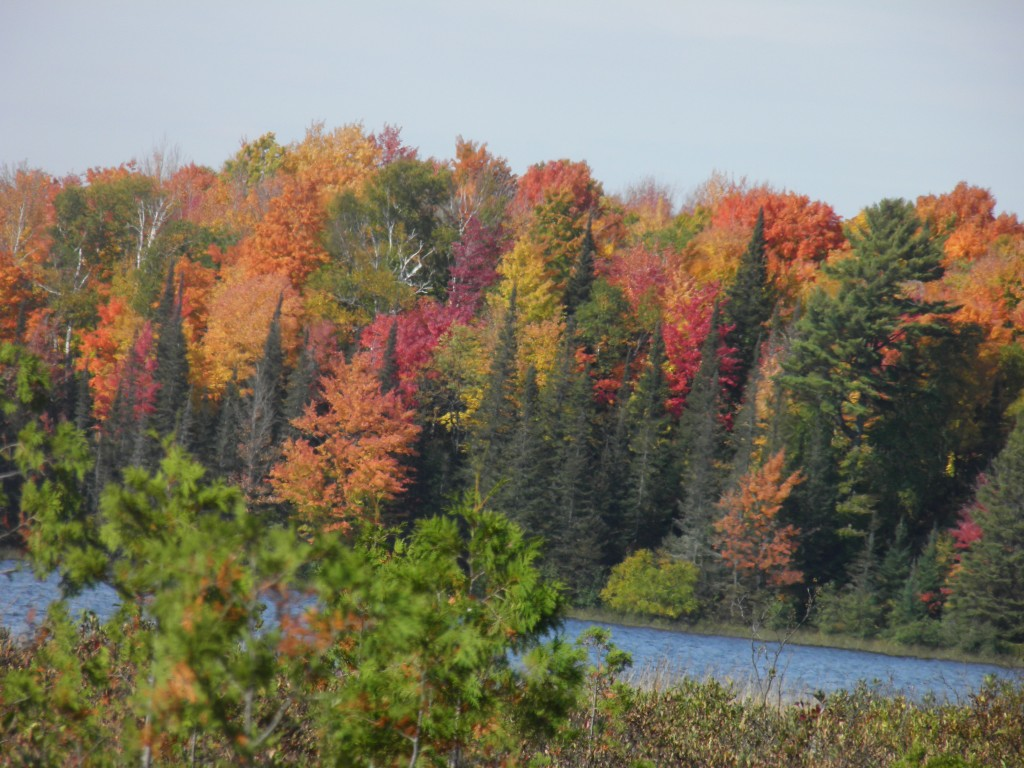 Cable Lake in Fall.