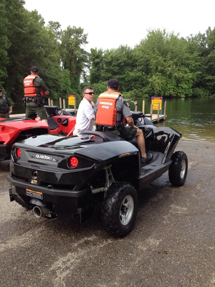 New CO machines being tested, called Quadskis, combo ORV and jet ski