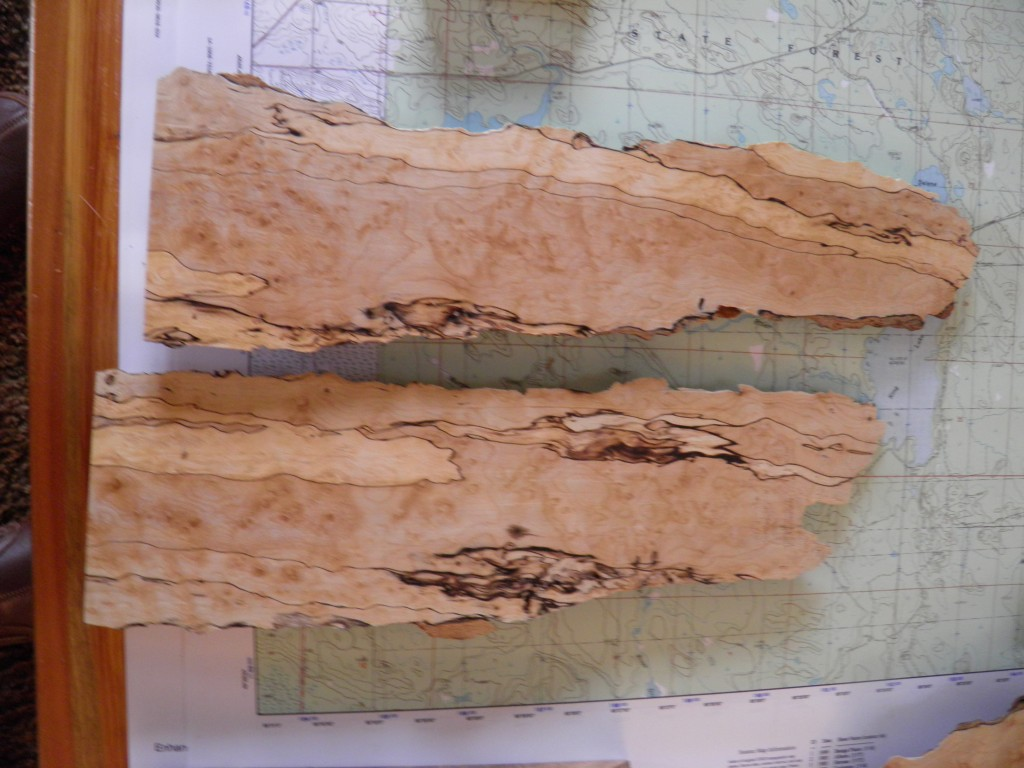 Spalted maple.