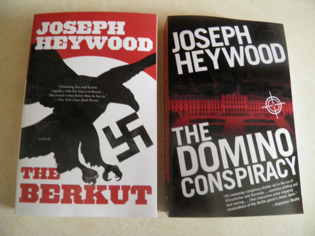 The Berkut was first published by Random House in 1987, and the Domino Conspiracy in 1992.