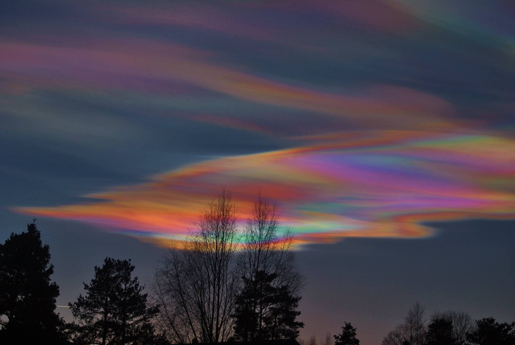Polar skies in Norway