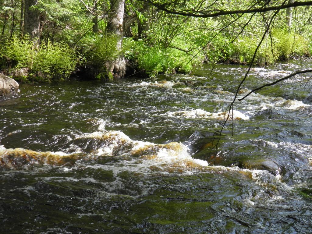 Rock River, heavy water.