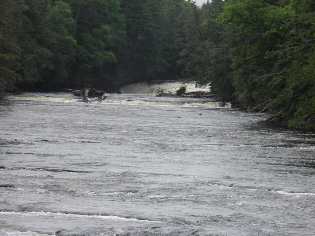 We're kayaking UPriver?