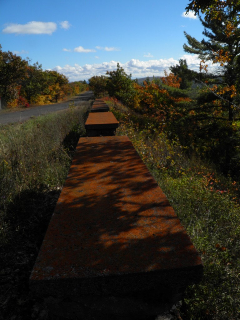 The walls on Brockway Mountain