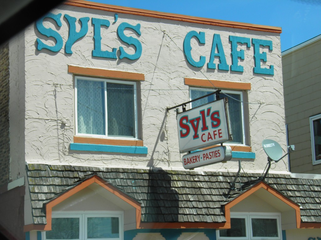 Syl's Cafe, Ontonagon.